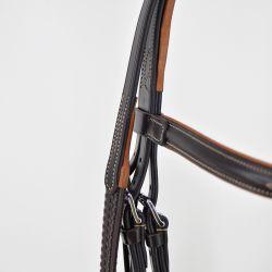 Rênes allemandes en cuir et corde